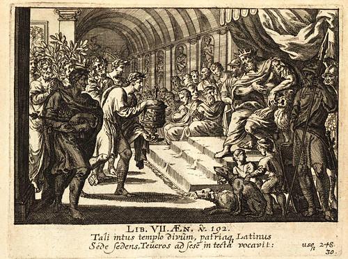 018-Vergilius Maro, Publius- Erneuertes Gedächtnüs Römischer Tapferkeit….1688-©Bayerische Staatsbibliothek