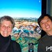 Roshi Joan and Chade-Meng Tan in front of Mount Kailash! a la Google!
