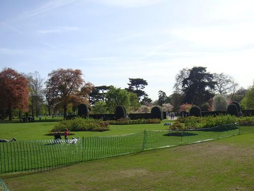 Vista de la entrada a Kew Gardens