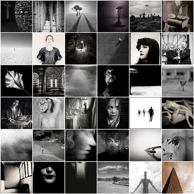 Tribute to Art Photography in BW