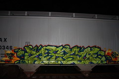 DAZE / GESO IBD (daze tn) Tags: train graffiti birmingham tn alabama alphabet exchange freight daze traingraffiti moist csx geso nsa ibd rtm dazetn