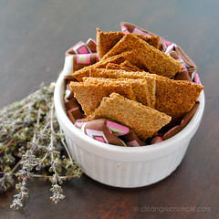 FlaxCrackers-09 (CleanGreenSimple) Tags: flaxseed flaxcrackers vegancrackers