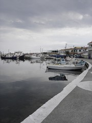 SO NICE (dimitra_milaiou) Tags: life sea water clouds reflections landscape boats grey europe view sony hellas greece ports monemvasia peloponissos dimitra elafonisos dscp93a     milaiou