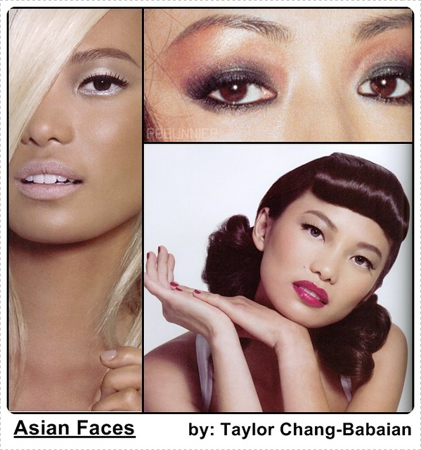 Asian Faces--Look Samples