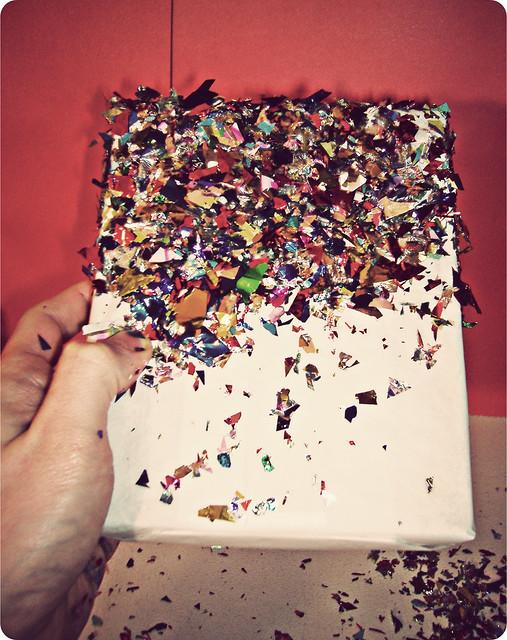 confetti dipped