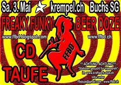 CD Taufe FFBD - Flyer