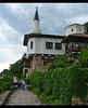 Minaret (Queen Tiye) Tags: green nature clouds day view minaret palace bulgaria balchik prinzesabg