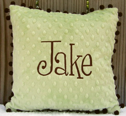 Monogrammed Children's Pillows