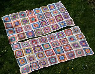 Granny Square blankets 2