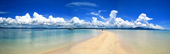 Glimpse of Heaven (p@ragon) Tags: panorama beach beauty island paradise philippines sandbar bluesky visayas palawan roxas paragon pristine cocoloco beachphotography westernvisayas teampilipinas summer2008 roxasbay