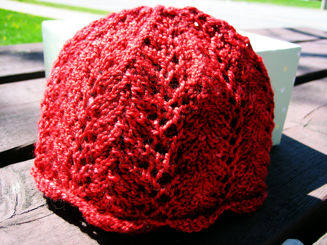 Vine Lacy Baby Hat