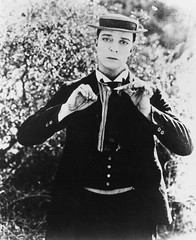 buster (Stella Sabata comes to Kill!) Tags: vintage comic antique handsome actor legend talented silverscreen busterkeaton silentcinema