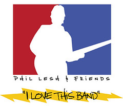 Phil Lesh & Friends NBA kinda logo dealie