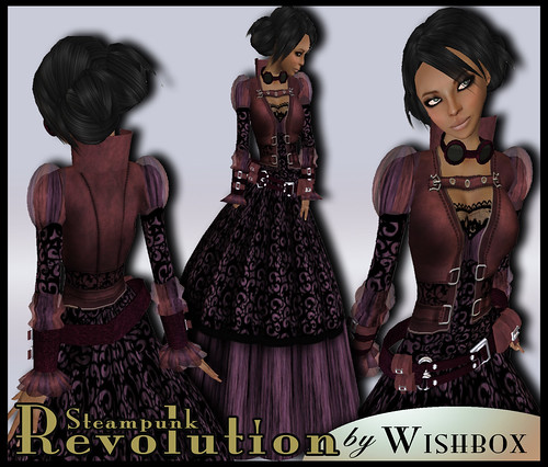 Steampunk Revolution in Purple