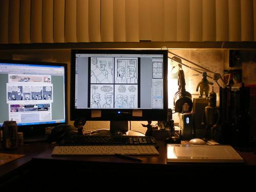 Adam's desktop