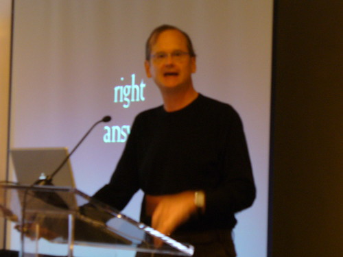 Lawrence Lessig at the DIA User Conference
