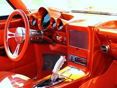 orange chevrolet dvd camaro chevy carshow topic showcar 69camaro views300 gmnationals carlislefairgrounds pistolgripshifter digitalgauges