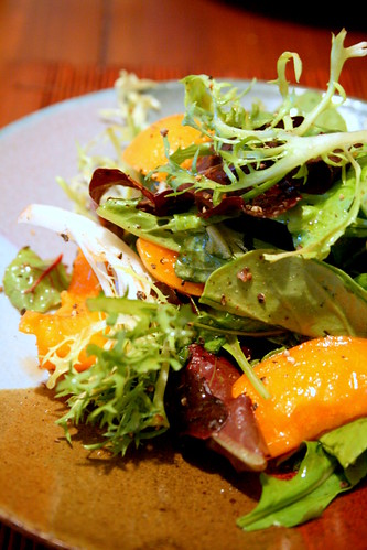 Mix green apricot salad