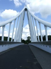 brug over A12 Balijbos (Gerard Stolk (vers le Carme)) Tags: bridge zoetermeer brug a12 balijbos