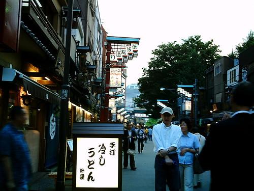 【写真】VQ3007で撮影した浅草伝法院通り