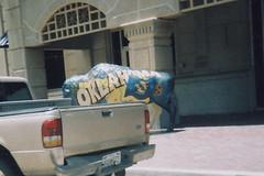 State Pride Buffalo (aimeedars) Tags: aimeedars summer 2004 buffalo spiritofthebuffalo oklahoma ok publicart paintedbuffalo paintedsculpture painted statue