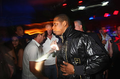jay-z in a club