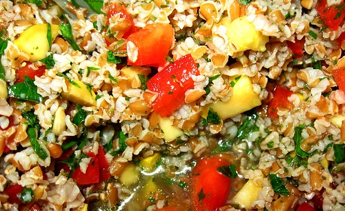 a variation of tabouleh