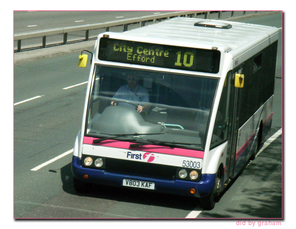 First Devon and Cornwall 53003 V803KAF