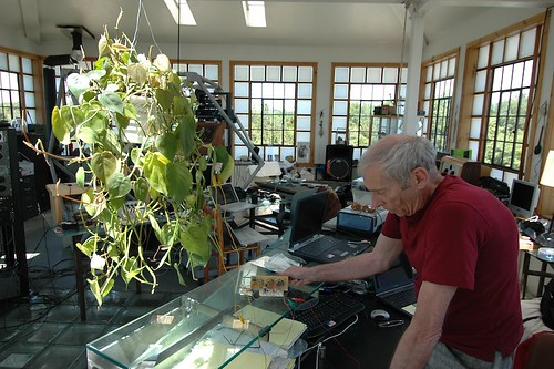 Gordon dialing in a plant