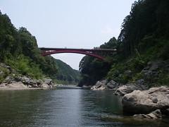 三瀬谷ダム最上流部
