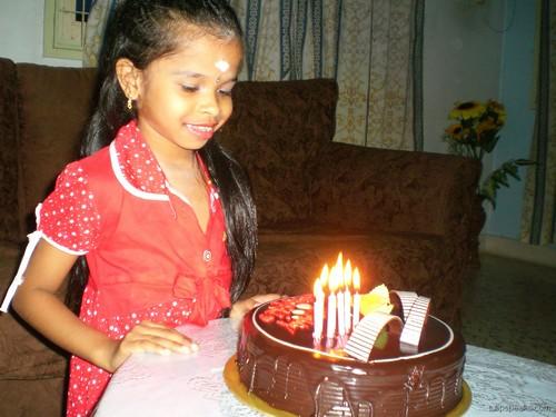 Shameli's birthday