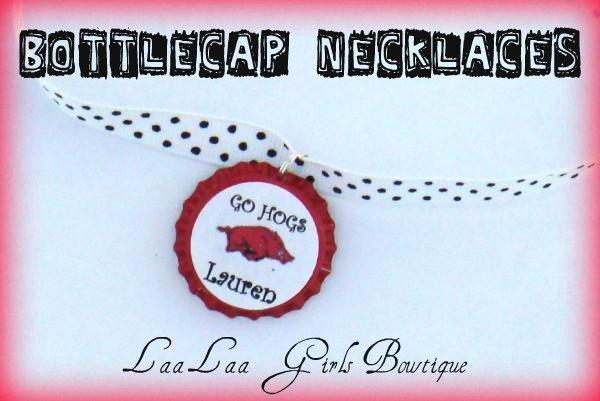 HOGS BOTTLECAP NECKLACE