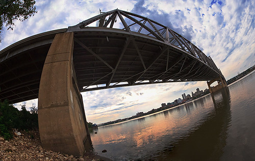 Murray Baker Bridge Panorama