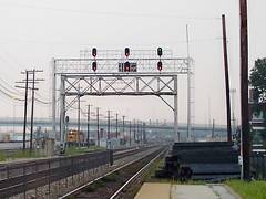 Looking west into Clyde Yard. Cicero Illinois. September 2007.