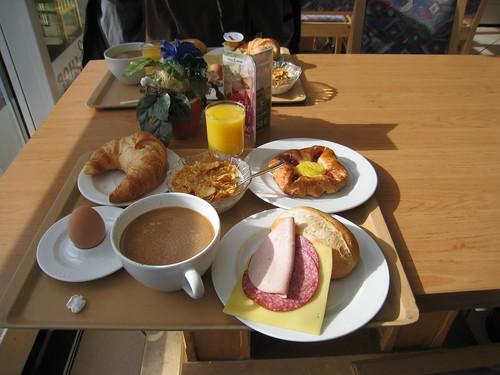 Breakfast in Germany