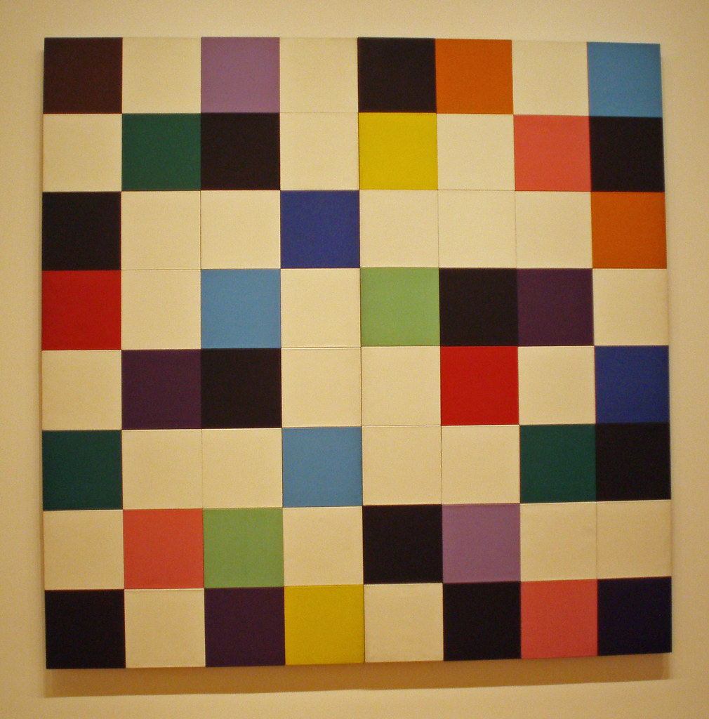 'Colours for a Large Wall' by Ellsworth Kelly