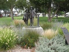 Abernathy Boys  Statues