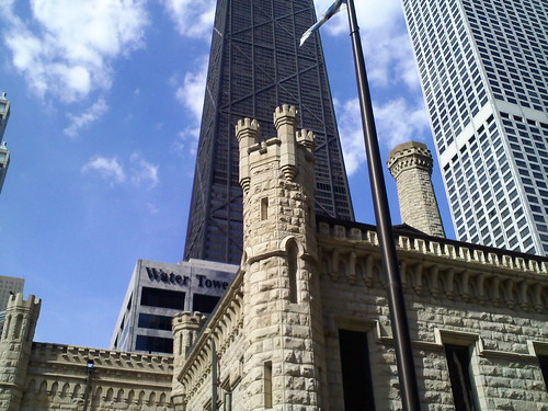 Yep, a castle in Downtown Chicago