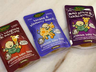 Rafferty's Garden baby food