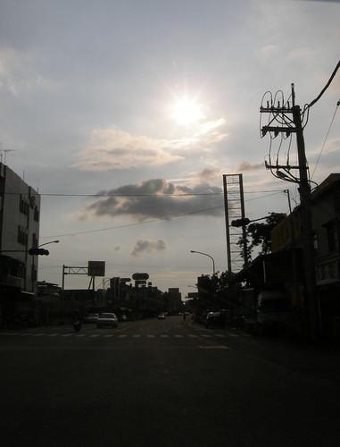 81.嘉義平原的夕陽