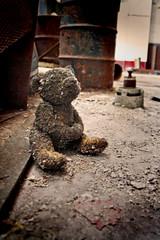 Lonely Teddy (crashmattb) Tags: abandoned nashville state decay tennessee prison urbanexploration jail tennesseestateprison canoneosdigitalrebelxti platinumphoto sigma1770mmf2845dc