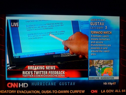 @acarvin tweet on CNN