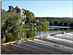 Bad Ksen - Saalewehr (thirau) Tags: travel river germany deutschland bad alemania fluss 2008 wehr saale supershot koesen aplusphoto badksen infinestyle thirau saalewehr
