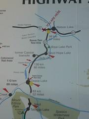 Cassiar Highway, la que estamos recorriendo ahora