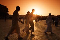 Place Jamaâ El Fna (davidchantoiseau.com) Tags: sunset morocco maroc marruecos marokko marrocos maroko المغرب モロッコ 摩洛哥 марокко 모로코 मोरक्को