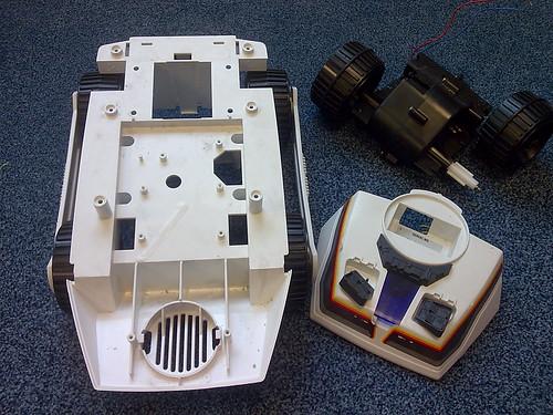 Big Trac Case Parts