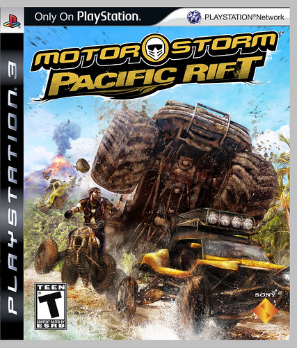 MotorStorm Pacific Rift cover art