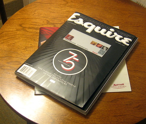 Esquire Magazine - E-Ink