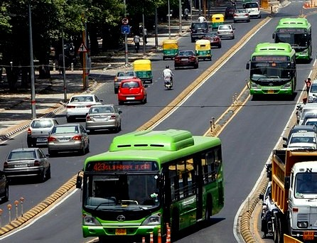 Bus Rapid Transport System in Delhi