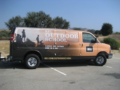 The REI Outdoor School van. (09/14/2008)